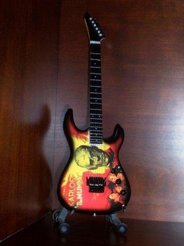 METALLICA KIRK HAMMETT Mini Guitar MUMMY Collectible Gift