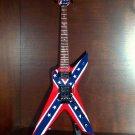 PANTERA DIMEBAG DARRELL Mini Guitar REBEL Memorabilia Collectible Gift