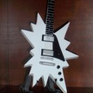ABBA BJORN ULVAEUS Miniature White Star Guitar Memorabilia Collectible Gift