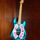 BON JOVI NEW JERSEY Tribute Mini Guitar Memorabilia Collectible Gift