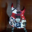LED ZEPPELIN JIMMY PAGE Miniature Guitar TRIBUTE Collectible Gift