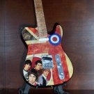 THE WHO TOWNSHEND MOON Tribute Mini Guitar Memorabilia Collectible Gift