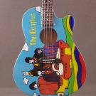 BEATLES Mini Famous guitar ACOUSTIC YELLOW SUBMARINE Collectible Gift