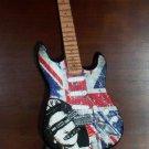 SEX PISTOLS 'God Save The Queen' Mini Famous Guitar Memorabilia Collectible Gift
