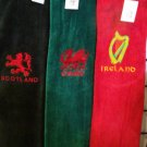 Golf Towels Full colour Embroidery with Nationally known images