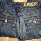 element jeans men skateboard 28x32 low rise junk yard wash