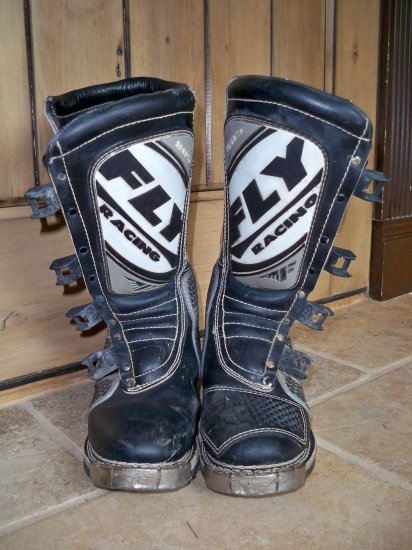 Fly motocross riding boots 805 size 10 mens