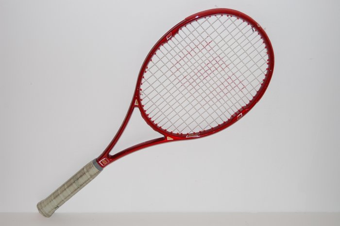 Wilson Kevlar  Select High Beam Series 7.6si Racquet Tennis 4-1/2 with cover  (WIG08)