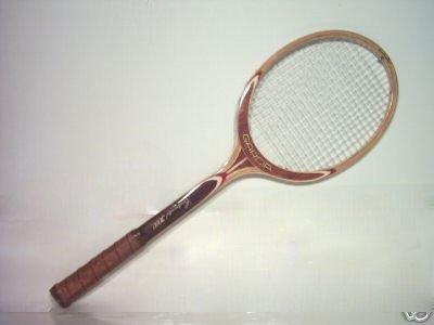 Garcia Continental 3000 Vintage Wood Tennis Racquet 4-1/2 L (GAW01)