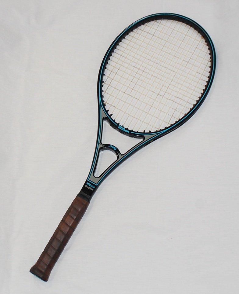 Wilson Sting Graphite Midsize Vintage Tennis Racquet Sn