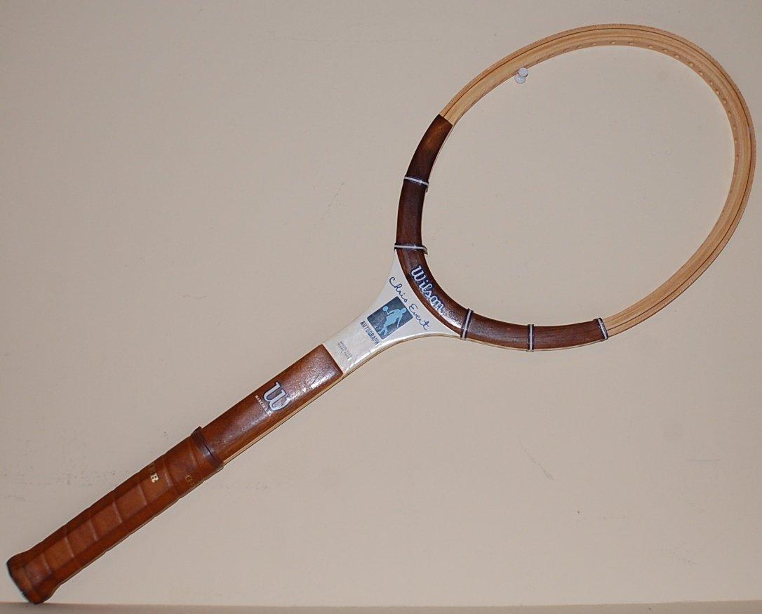 Wilson Chris Evert Vintage Wood Tennis Racquet  4 3/8 L (SN WIW04)