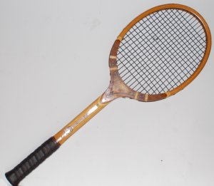 Tad Davis Imperial Wood Vintage Tennis Racquet 4-6/8 H (TAD07)