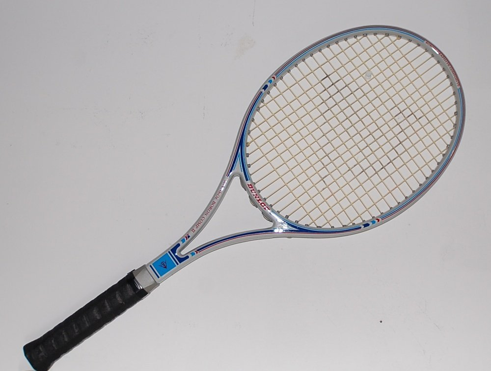 Dunlop John McEnroe Boron Comp II Tennis Racquet  4-5/8 L5 (DUG07)