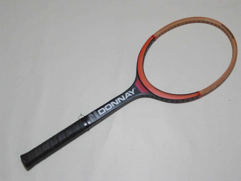 "Donnay  All Wood   Vintage Tennis Raquet 4"" grip (DOW02)"