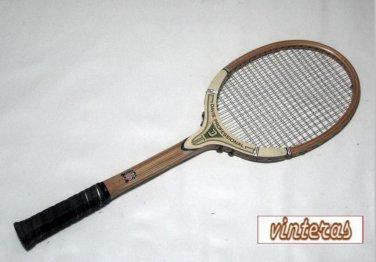 Tad Davis Professional White Wood Vintage Tennis Racquet 4-1/2 M (SN TAD16a)