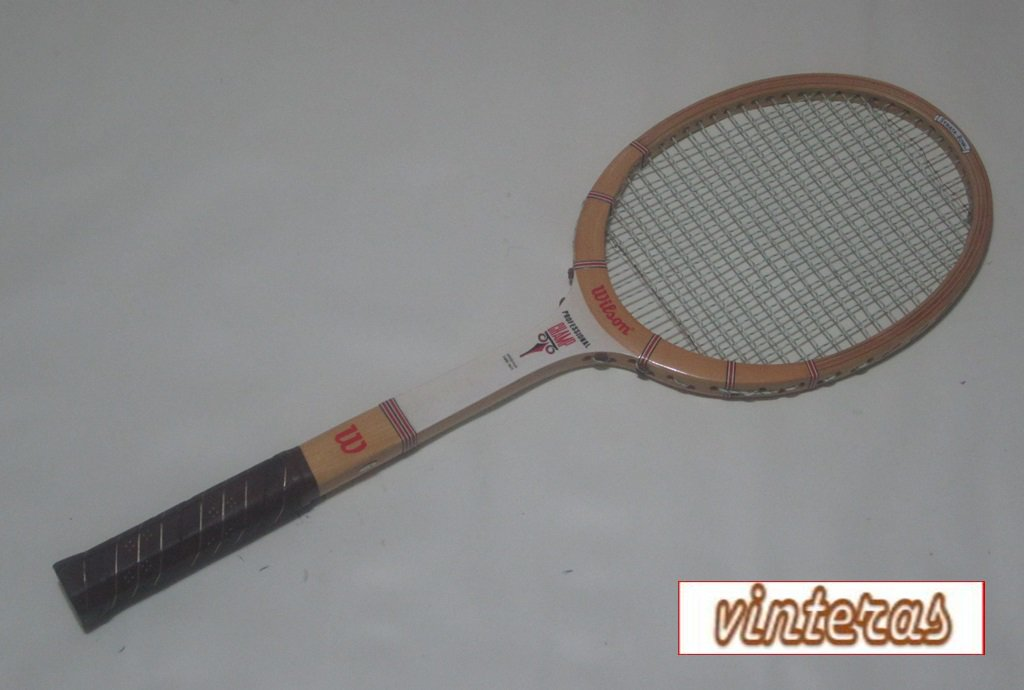 Wilson Professional Champ Wood Tennis Racquet (SN WIW63)