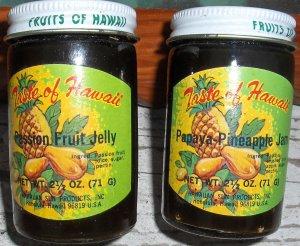 1960's Taste of Hawaii Real Fruit Jam & Jelly