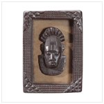 African Mask Plaque