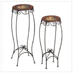 Rooster Plant Table Set