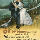 1909 Romance Oh Mr Moon B B London Series No E 240 Printed in Germany