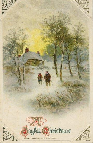 1913 John Winsch Christmas Postcard