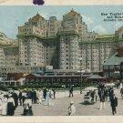 1918 Atlantic City New Jersey Boardwalk and Traymore Hotel