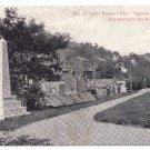 1908 Gathland Park MD John Browns Fort War Tablets Vintage Postcard