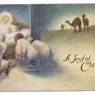 Nativity Vintage Christmas Postcard