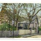 House of Seven Gables Salem MA Vintage Postcard Photostint