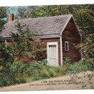 Little Red School House Jaffrey NH Vintage Postcard