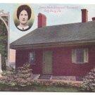 Jennie Wade House Gettysburg PA Vintage Postcard ca 1909