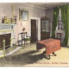 Mount Vernon VA Family Dining Room Vintage Postcard 1915
