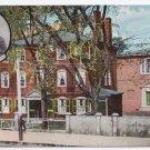 Portland ME Longfellow Mansion UND Vintage Postcard Leighton