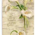 Calla Lilies Embossed UND Vintage Easter Postcard 1907