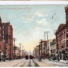 Court Street Binghamton NY 1909 Trolley Bicycles