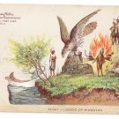 Hudson Fulton 1909 Float Legend of Hiawatha Official Card no. 5 Redfield