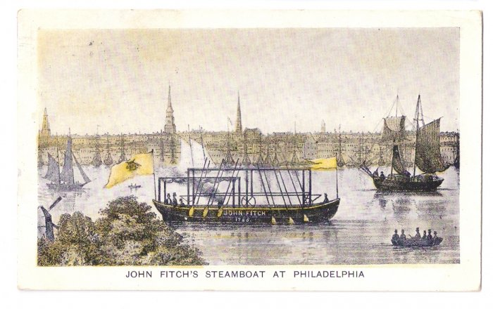 John Fitch's Steamboat Hudson Fulton Celebration 1909 Churchman