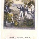 Fulton Clermont Manor Hudson Fulton Celebration 1909 Churchman