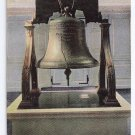 Vintage Liberty Bell Postcard Philadelphia PA UND