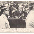 WWI Loyd George Paris July 4 1918 Vintage Postcard Lloyd