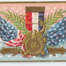 Sons of Veterans Decoration Day Embossed Vintage Patriotic Postcard