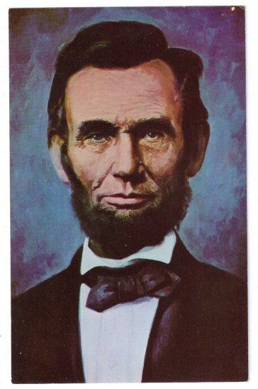 Abraham Lincoln Portrait Patriotic Postcard