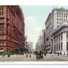 34th Street Auto Knickerbocker Trust New York ca 1910 Photostint NM Vintage Postcard