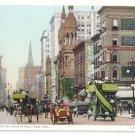Fifth 5th Avenue 42nd Street New York ca 1910 Photostint NM Postcard