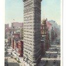 Flat Iron Building New York ca 1910 Photostint NM Vintage Postcard