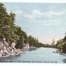 Entrance Lake of Isles Rift Thousand Islands NY ca 1910 Leighton Vintage Postcard