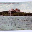 Heart Island Thousand Islands NY Boldt Castle ca 1910 Otis NM Postcard
