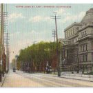 Notre Dame Street Courthouse Montreal ca 1910 Vintage Postcard