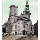 The Basilica Quebec Canada c 1910 Vintage Postcard NM