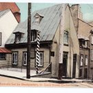 Montcalm House Headquarters Quebec Canada c 1910 Vintage Postcard